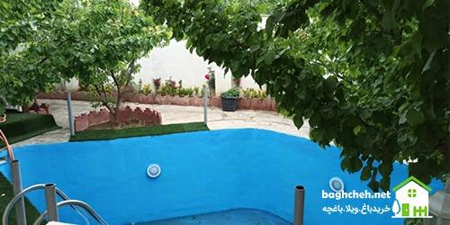 فروش باغچه فول امکانات خیابان جزایری ماهدشت